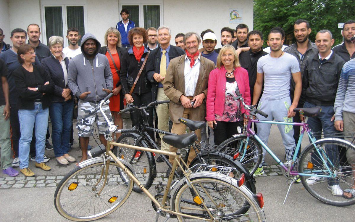 Fahrräder Für Asylbewerber