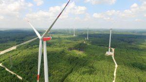 Enegiepfad durchs Augsburger Land, Windpark Jettingen Scheppach Zusmarshausen