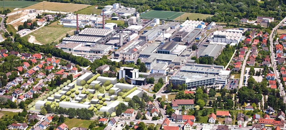 Enegiepfad durchs Augsburger Land, Niedertemperaturnetz Meitingen – Versorgung eines Neubaugebietes mit industrieller Abwärme